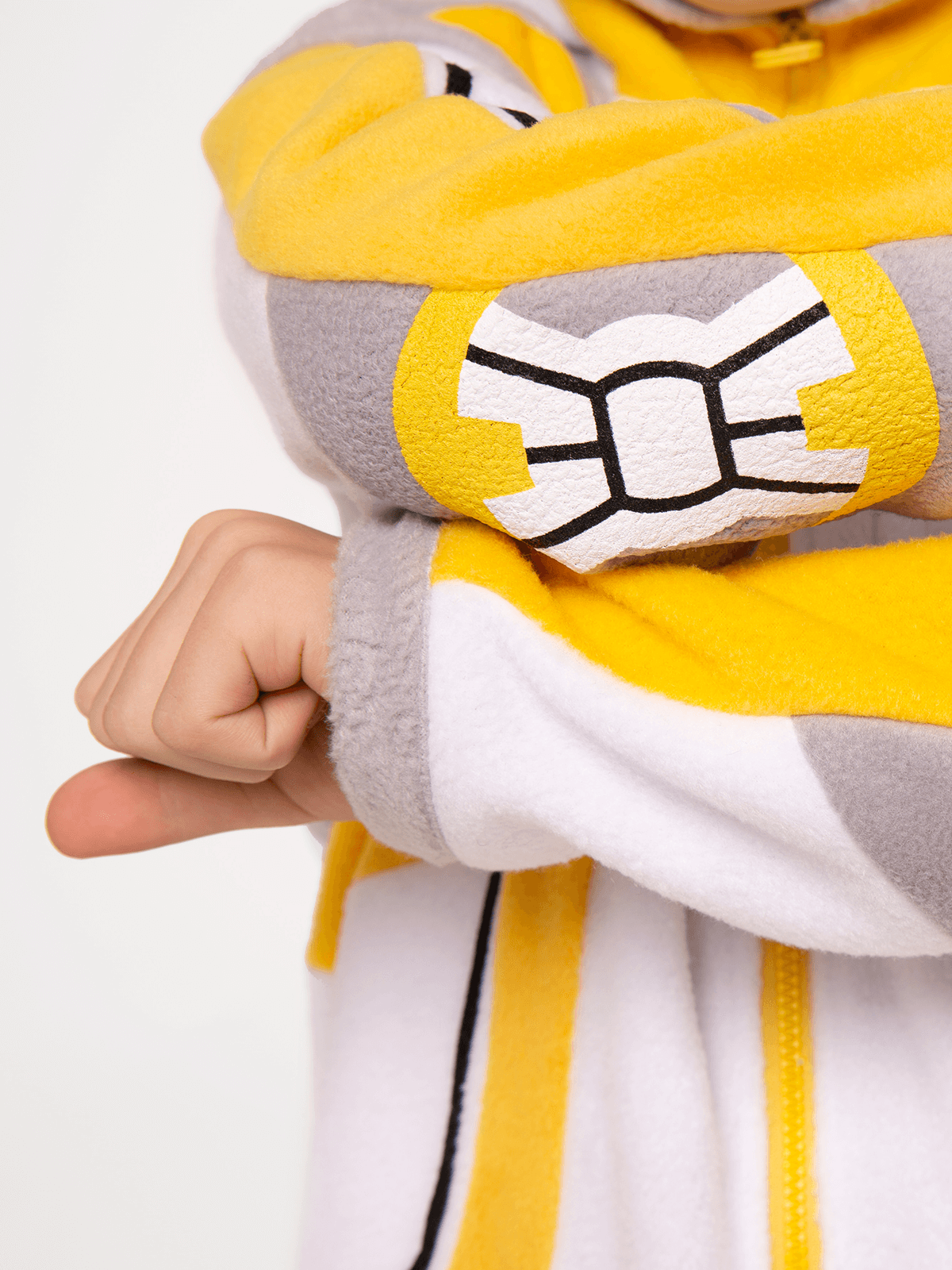 Pajamas Spacesuit. Color yellow. 9.