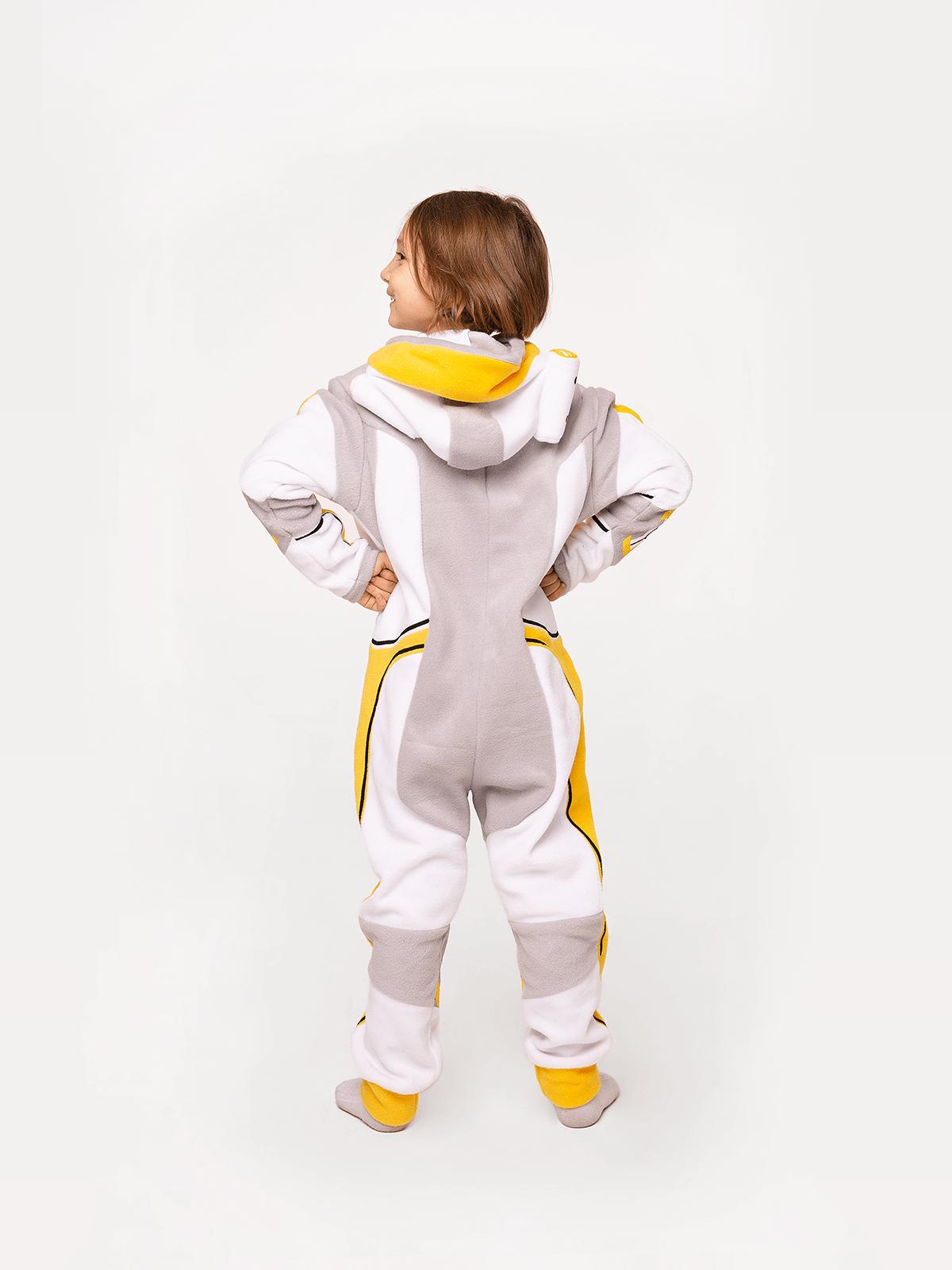 Pajamas Spacesuit. Color yellow. 5.