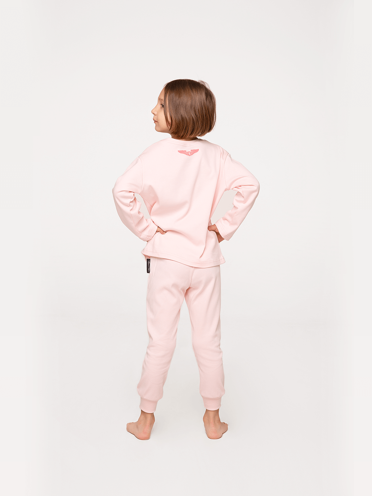 Kids Pajamas Space Shepherd. Color pale pink.  The color shades on your screen may differ from the original color.