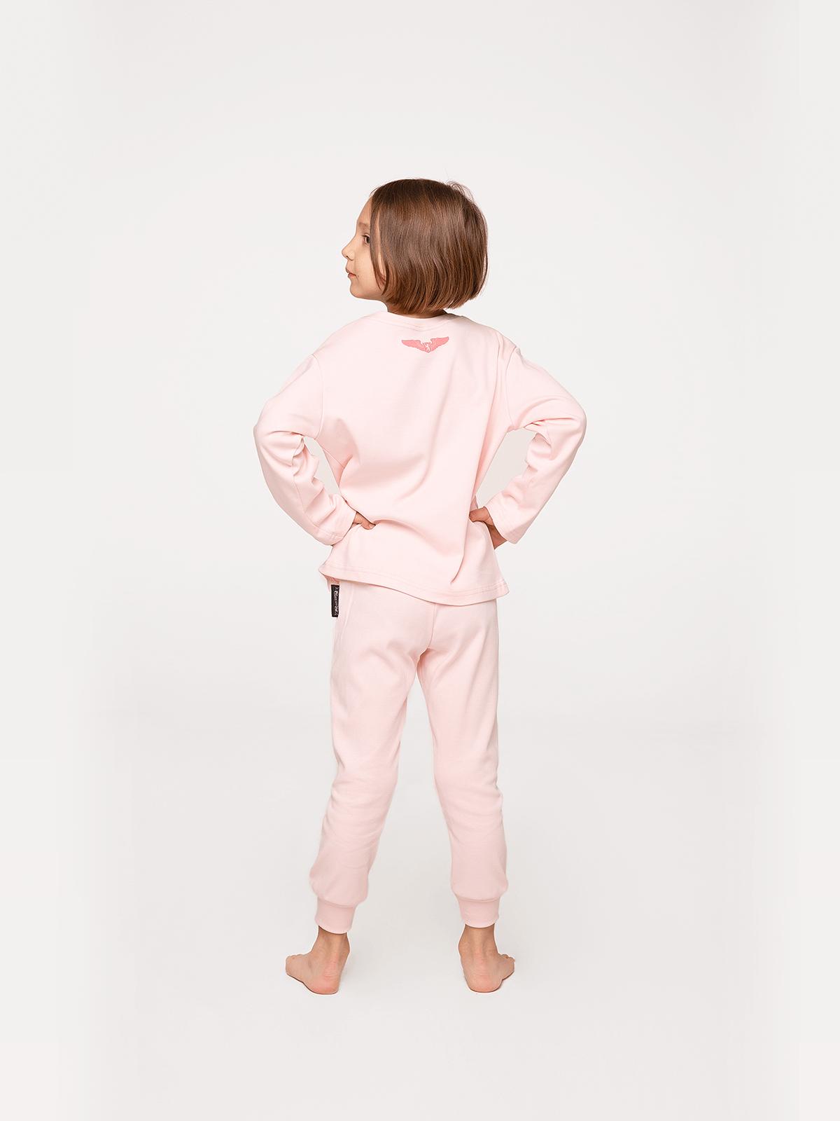 Дитяча Піжама Космічний Чабан. Колір світло-рожевий.  Відтінки кольорів на вашому екрані можуть відрізнятися від кольору оригіналу.