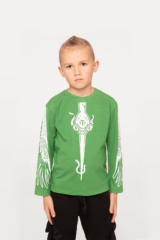 Kids Long Sleeves Stork. Long sleeve: unisex, well suited for both boys and girls.