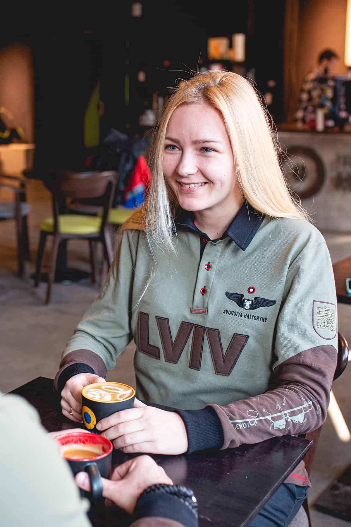Жіноче Поло-Лонґ Lviv. Колір зелений. .