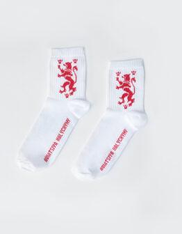 Шкарпетки Лев. Колір білий. gov.