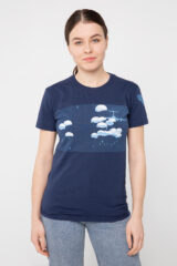 Women's T-Shirt Airborn. Material: 95% cotton, 5% spandex.
