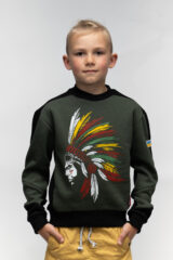 Kids Sweatshirt Indian. Sweatshirt: unisex, well suited for both boys and girls.