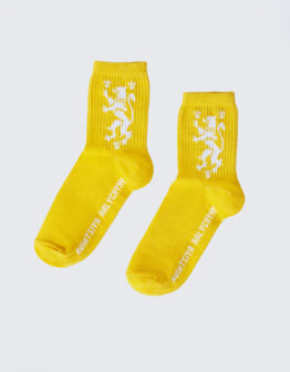 Шкарпетки Лев. Колір жовтий. 95% бавовна, 5% еластан  Товар обміну та поверненню не підлягає