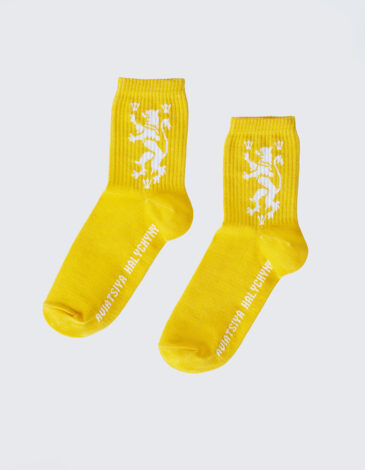 Шкарпетки Лев. Колір жовтий. 1.
