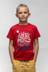Kids T-Shirt Mars. Unisex T-shirt well suited for both boys and girls.