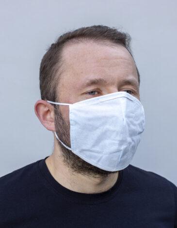 Set Of Disposable Masks (1000). Color white.  Товар особистої гігієни, який обміну і поверненню не підлягає.