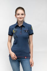 Women's Polo Shirt 831 Brigade. Pique fabric: 100% cotton.