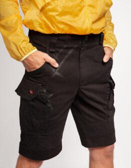 Men's Shorts Flyer. Color black. .