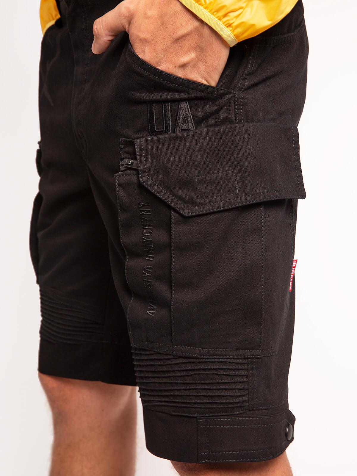 Men's Shorts Flyer. Color black. 7.