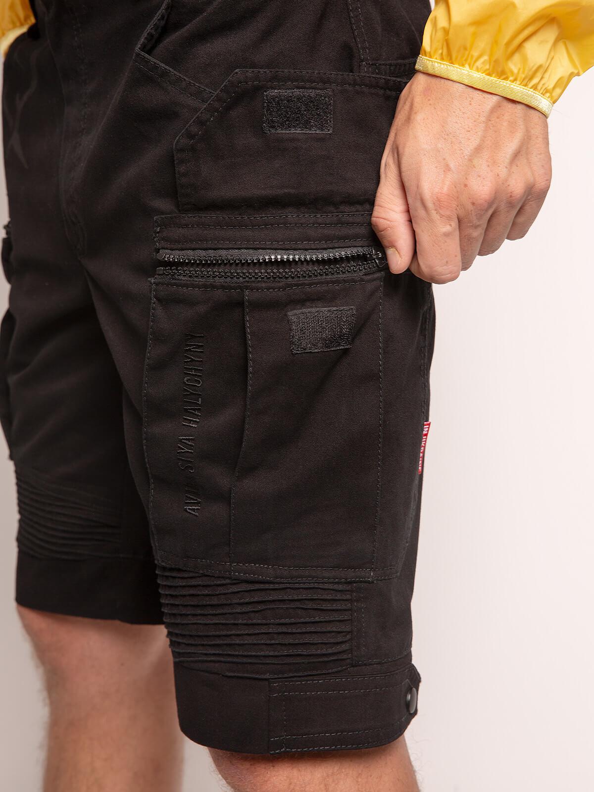 Men's Shorts Flyer. Color black. 6.