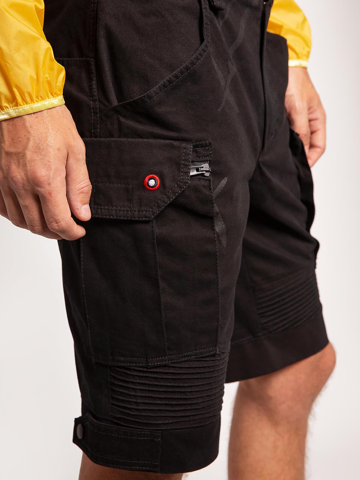 Men's Shorts Flyer. Color black. 5.