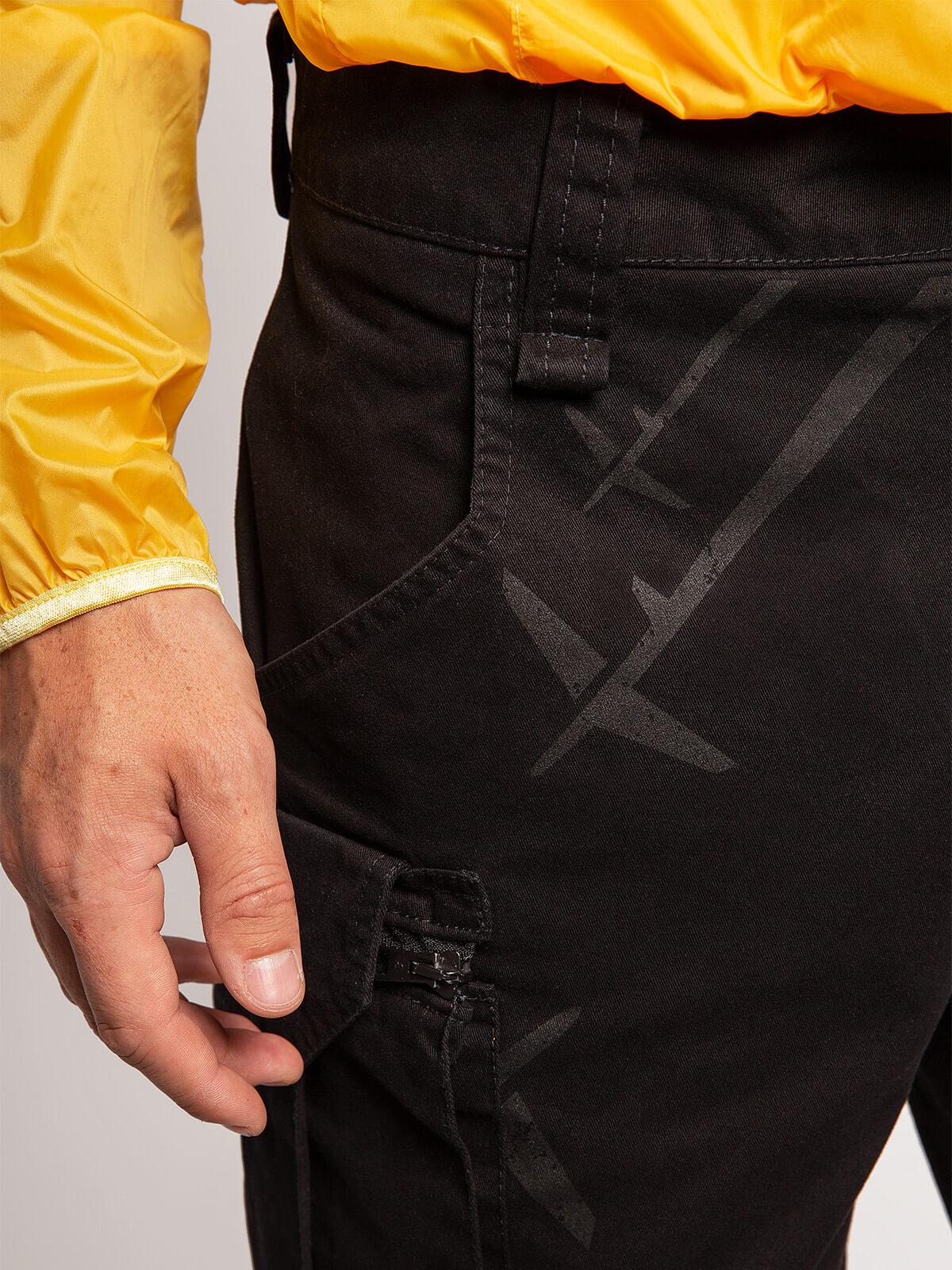 Men's Shorts Flyer. Color black. 2.