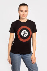 Women's T-Shirt Lion (Roundel). Material: 95% cotton, 5% spandex.