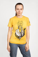Women's T-Shirt Danylo. Material: 95% cotton, 5% spandex.