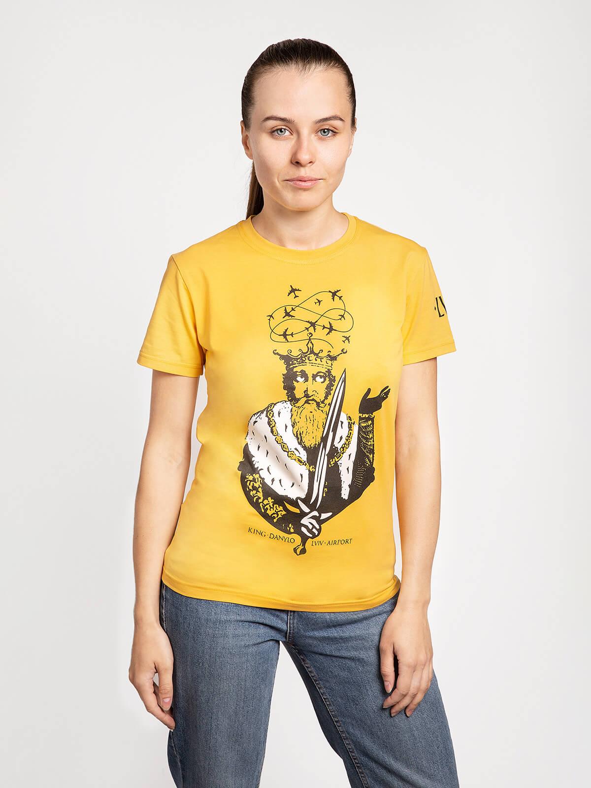 Women's T-Shirt Danylo. Футболкаунісекс(розміри чоловічі).
