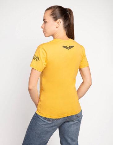 Жіноча Футболка Данило. Колір жовтий. Футболка унісекс (розміри чоловічі).
