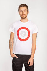 Men's T-Shirt Lion (Roundel). Material: 95% cotton, 5% spandex.
