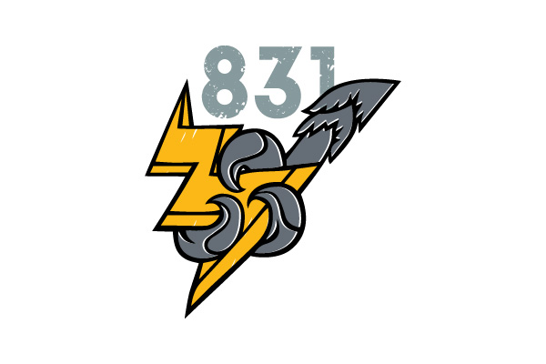 Лого 831 BRIGADE