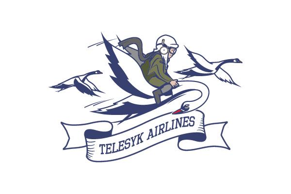 Лого TELESYK AIRLINES