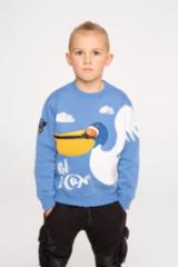 Children's sweatshirt Pelican.