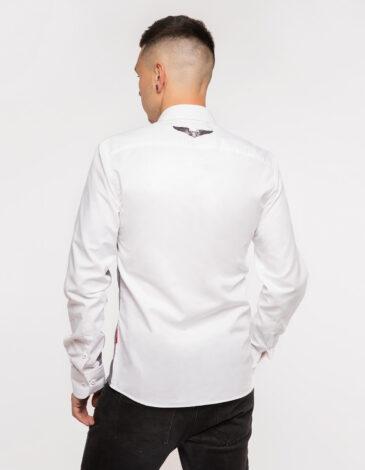 Чоловіча Сорочка Крила. Колір білий. Метеріал: 100% бавовна.