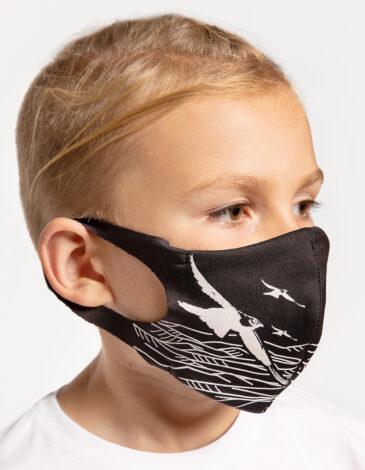 Дитяча Маска Гори. Колір чорний. Товар особистої гігієни, який обміну і поверненню не підлягає.