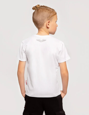 Kids T-Shirt An-225. Color white. Unisex T-shirt well suited for both boys and girls.