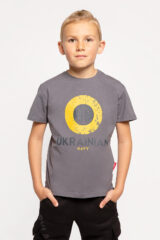 Kids T-Shirt Ukrainian Navy. Unisex T-shirt well suited for both boys and girls.