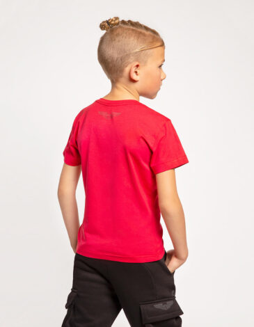 Kids T-Shirt Mars. Color red. Unisex T-shirt well suited for both boys and girls.