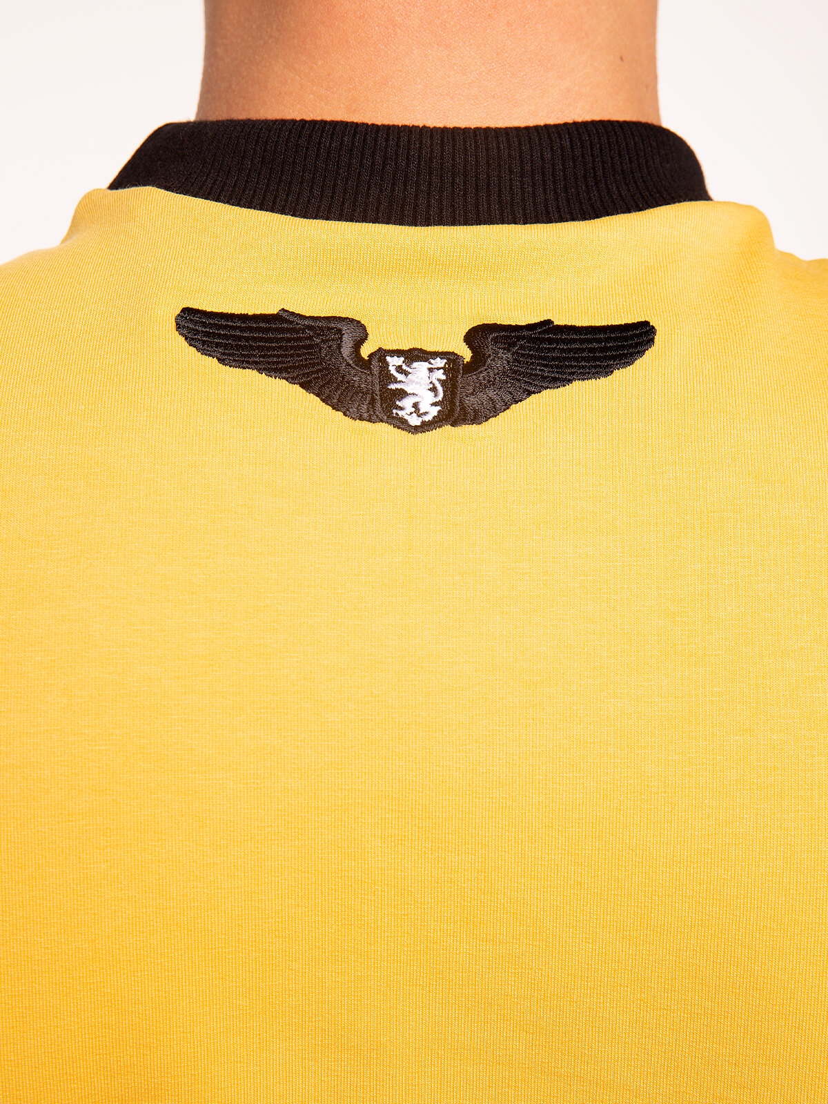 Men's Long Sleeves Have A Nice Flight. Color yellow. 5.