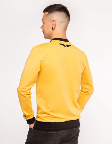 Men's Long Sleeves Have A Nice Flight. Color yellow. Material: 95% cotton, 5% spandex.