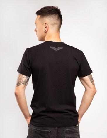 Men's T-Shirt Mriya 1989. Color black. Unisex T-shirt (men's sizes).