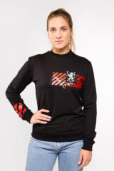Women's Long Sleeve See You In Lviv. Material: 95% cotton, 5% spandex.