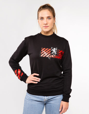 Women's Long Sleeve See You In Lviv. Color black. Матеріал: 95% бавовна, 5% спандекс.