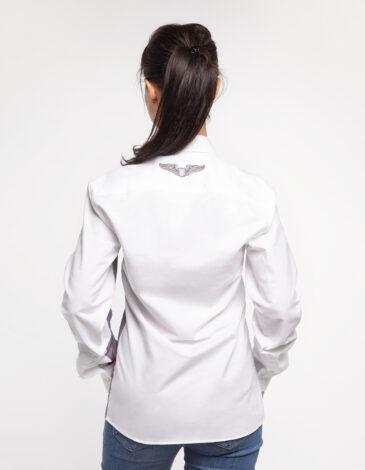 Жіноча Сорочка Крила. Колір білий. Метеріал: 100% бавовна.