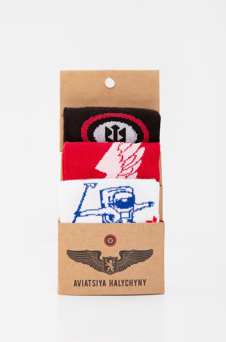 Набір Шкарпеток До Польотів. Колір білий. 95% бавовна, 5% еластан Товар обміну та поверненню не підлягає