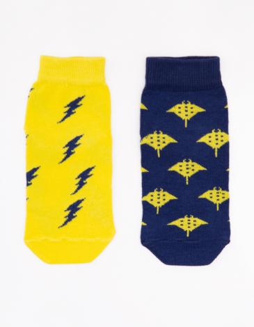 Kids Socks Stingray. Color yellow. 95% бавовна, 5% еластан Товар обміну та поверненню не підлягає