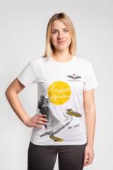 Women's T-Shirt Pelican. Unisex T-shirt (men's sizes).