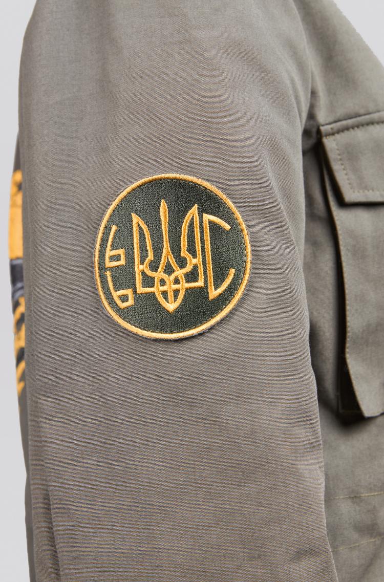Жіноча Куртка М-65 Буревій. Колір хакі. .