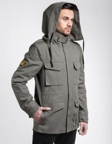 Men's Jacket М-65 Bureviy. Color khaki. The main material: 100% cotton.