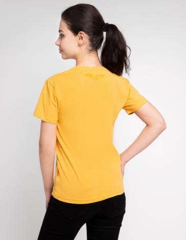 Women's T-Shirt Must-Have. Color yellow. Unisex T-shirt (men's sizes).