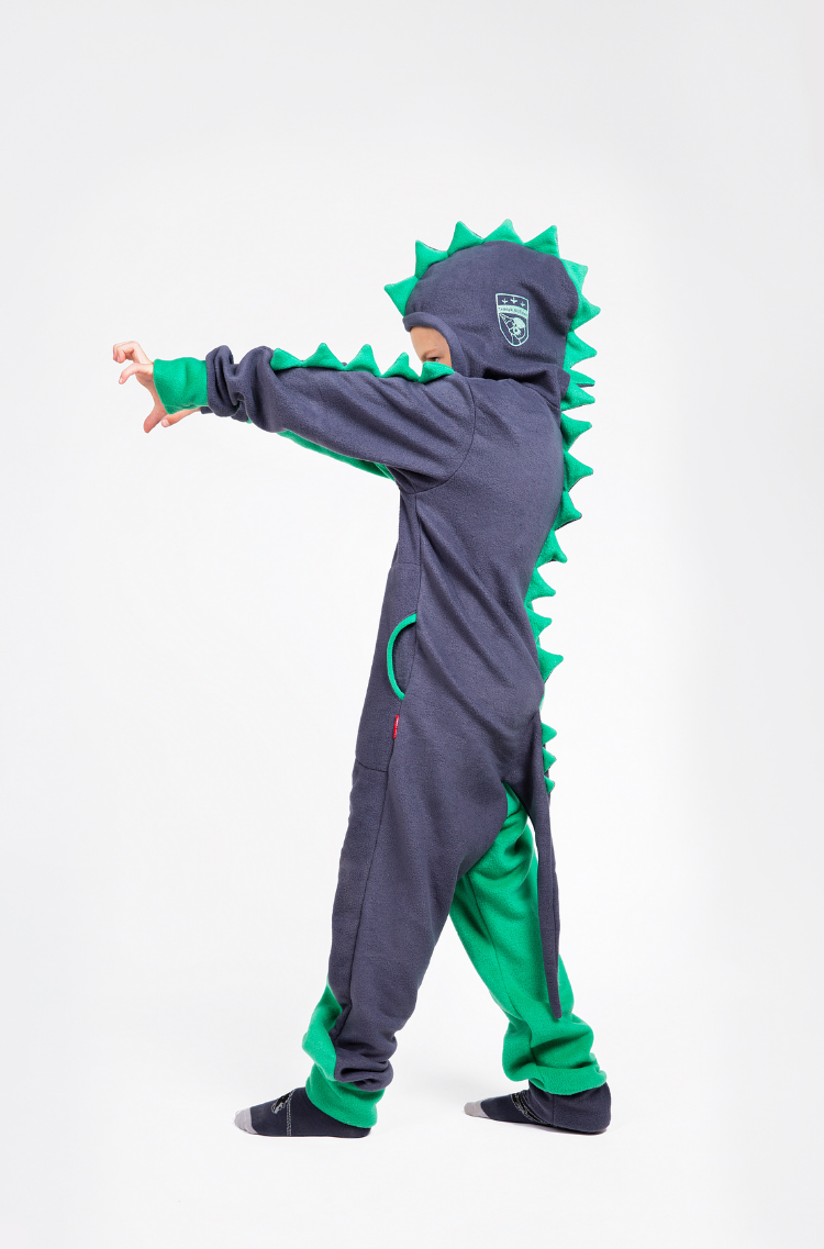 Rompers Dragon. Color green. 11.