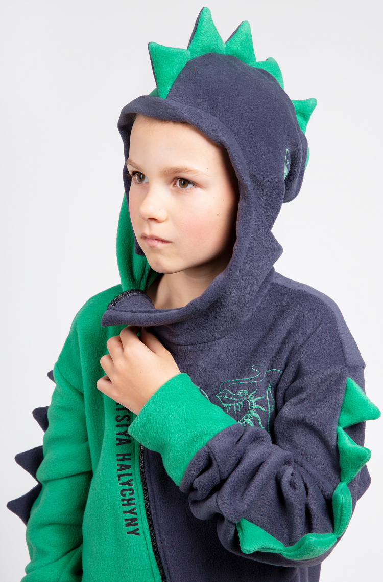 Rompers Dragon. Color green. 10.