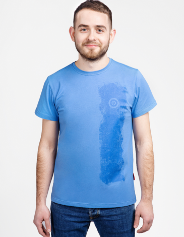 Men's T-Shirt Must-Have. Color sky blue. 6.
