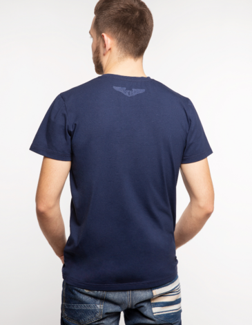 Men's T-Shirt Must-Have. Color dark blue.  Buy a Must-have set (3 in 1) here and save some money  The color shades on your screen may differ from the original color.