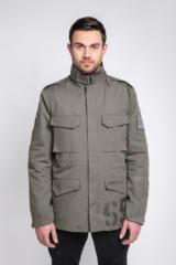 Чоловіча Куртка М-65 Буревій. Основний матеріал: 100% бавовна Матеріал підкладки: 60 % бавовна , 40 % поліестер Технологія нанесення зображень: шовкодрук.