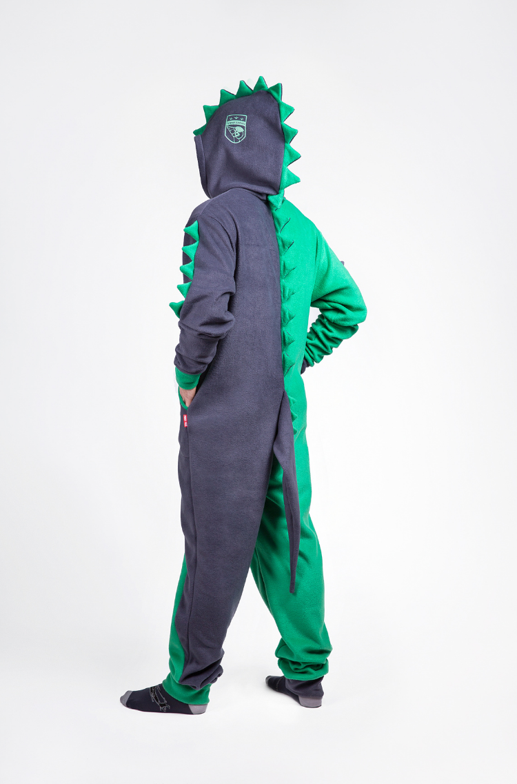 Rompers Dragon. Color green. 12.